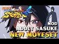 Naruto Ultimate Ninja Storm 4 - Adult Sasuke Mod (RTB Sasuke)