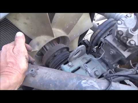 Adding A Dash Switch For A Big Truck Engine Fan  August 26, 2017