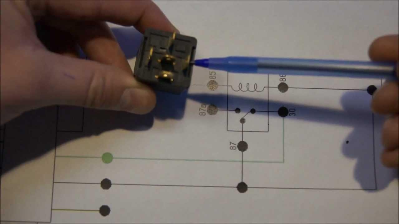 Relay Diagram Explained