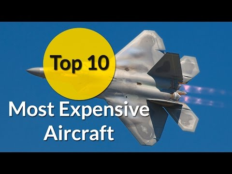 The Top 10 Most Expensive Aircraft in the World