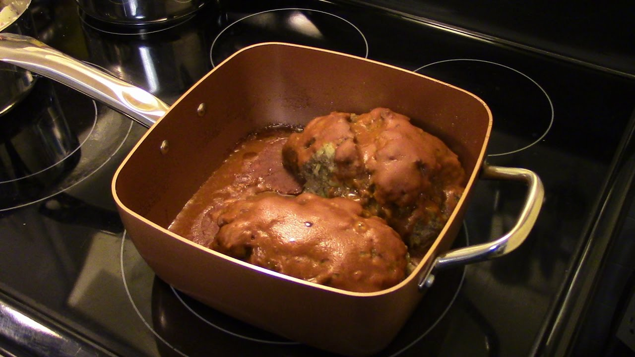 Meatloaf In The Copper Chef Pan Youtube
