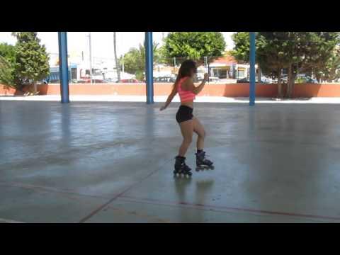 Zaira Tary.Roller Dance. Ensayo de nueva coreo