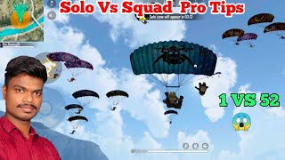 Free Fire Only Brasilia solo Vs Squad  ஒரே அடியில் இரண்டு Head shot tricks in tamil