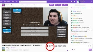 I found this Twitch streamer HACKING AGAIN on my Minecraft server LIVE..