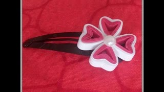 How to make Paper Quilling Flower/ Design 5 / Tutorial