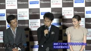 俳優の大泉洋さんが8月17日、WOWOWで19日にスタートする連続ドラマW「プ...