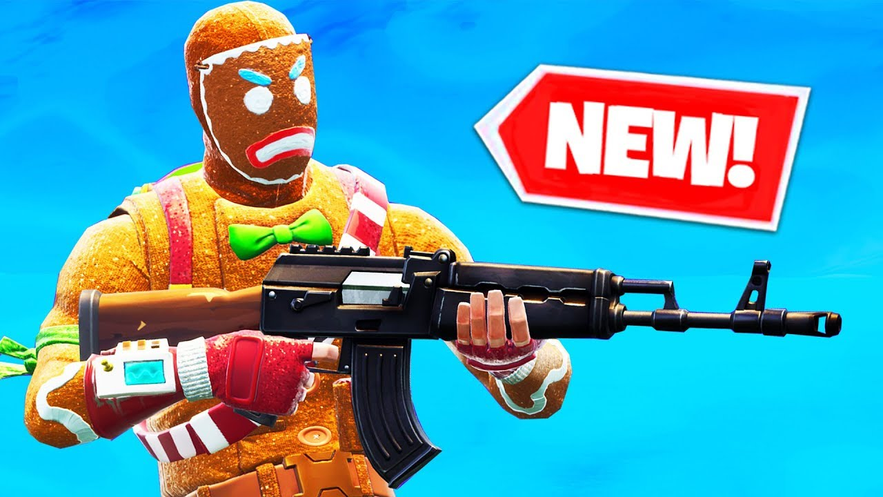 New Heavy Ar Gameplay In Fortnite Battle Royale