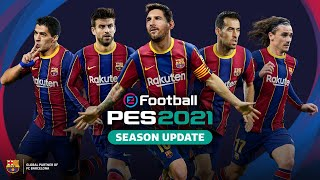 👽 🎮 Messi emulates his greatest goal... on PES2021