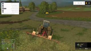 Farming Simulator 2015 - Tutorial Alpacas de Heno o Hierba - Gameplay HD Español