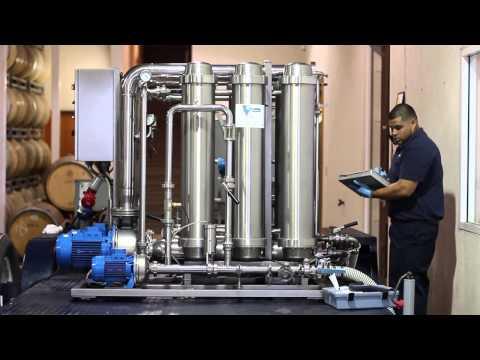 Winetech Mobile Filtrations Crossflow Demo