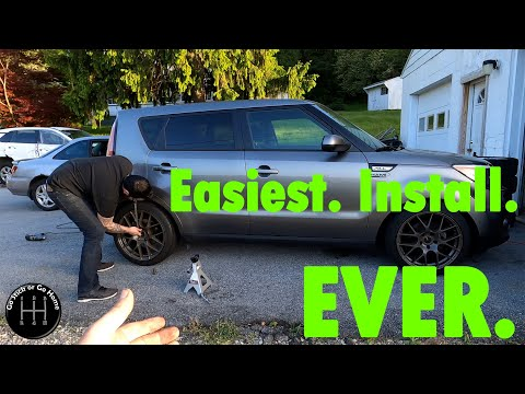 How To – 2014+ Kia Soul Coil Over Install