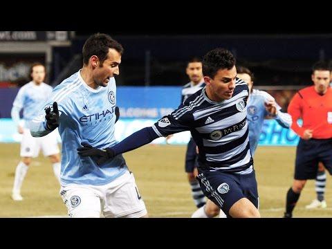 HIGHLIGHTS: New York City FC vs. Sporting KC | March 28. 2015
