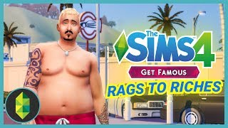 ROCK BOTTOM - Part 9 - Rags to Riches (Sims 4 Get Famous)