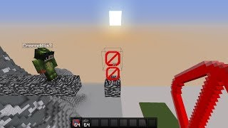 MINECRAFT TROLLING WITH BARRIERS