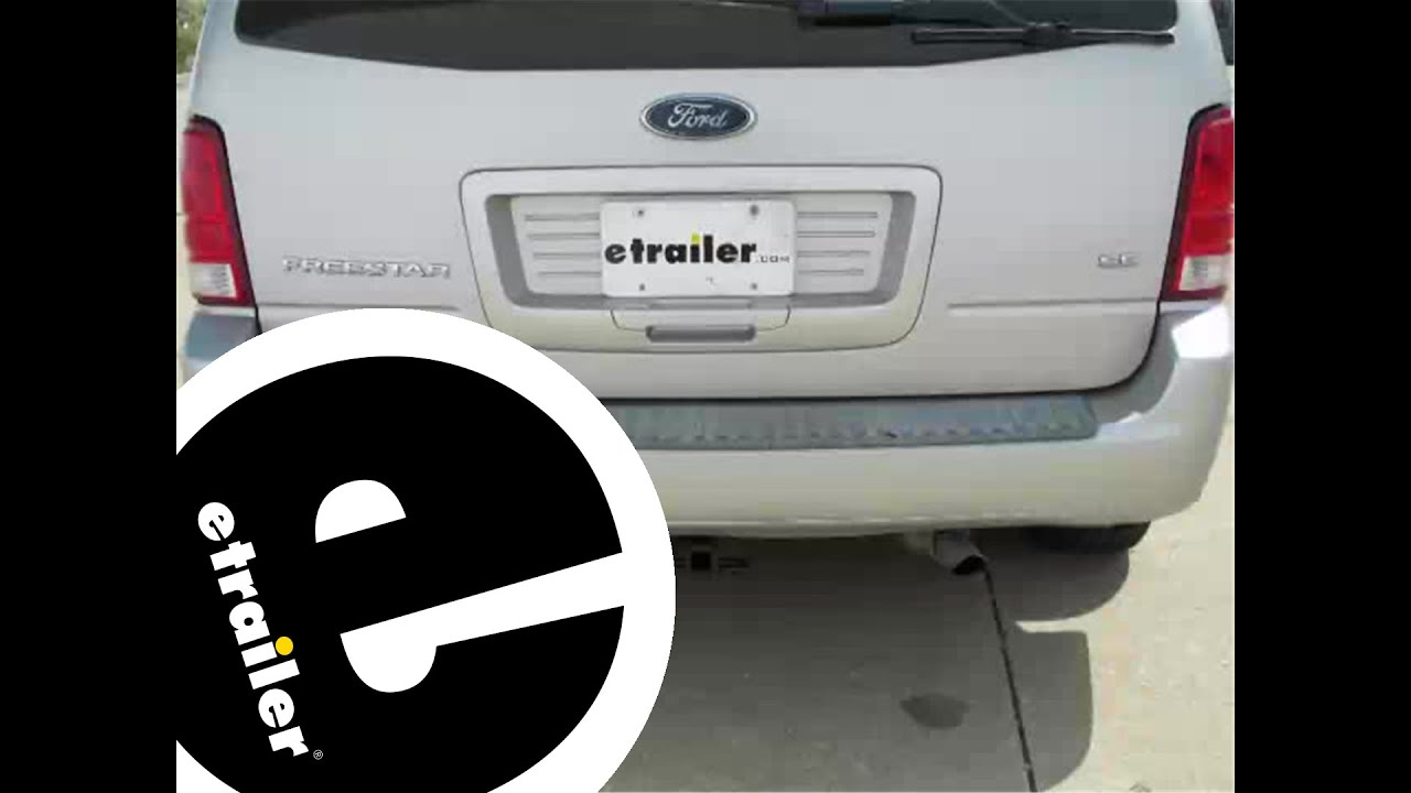 hight resolution of trailer wiring harness installation 2004 ford freestar etrailer com