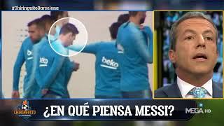 Soria a Messi:
