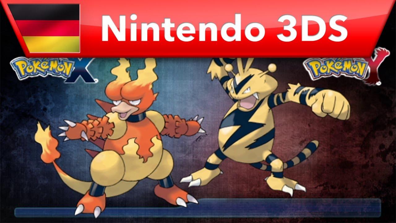 Pok mon x pok mon y magmar und elektek nintendo 3ds - Pokemon elektek ...