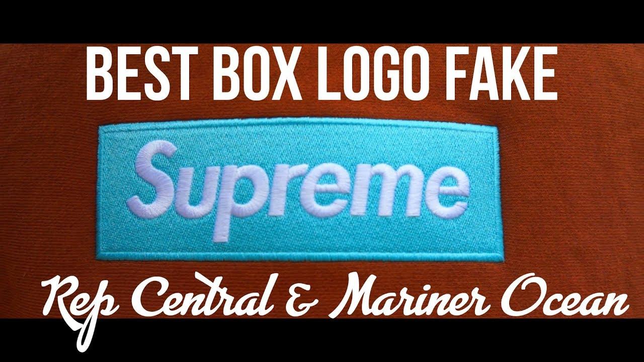 THE ABSOLUTE BEST REPLICA SUPREME BOX LOGO EVER!!! 1:1 Box Logo