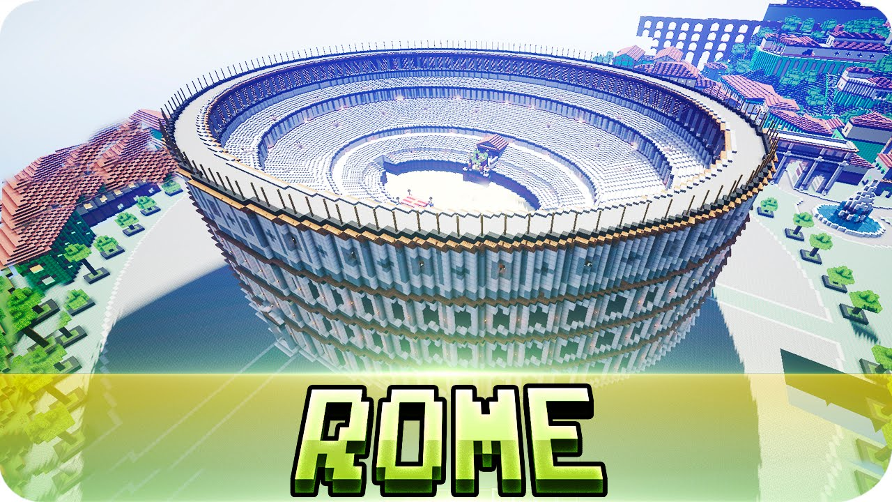 Minecraft The City Of Rome Epic Map W Download YouTube - Rome map download