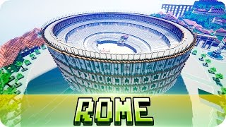 Minecraft - The City of Rome - Epic Map w/ Download