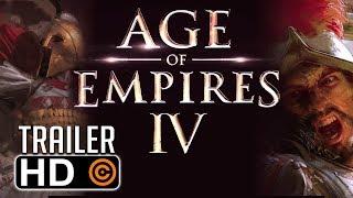AGE OF EMPIRES IV - TRAILER DE ANÚNCIO OFICIAL DA GAMESCOM 2017