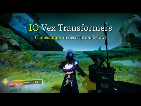 Vex Transformers Locations (IO) | Season Of Dawn | Destiny 2 Shadowkeep
