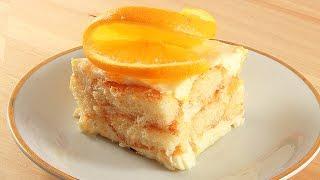 🍊Тирамису с Апельсиновым Кремом. Очень Вкусно!