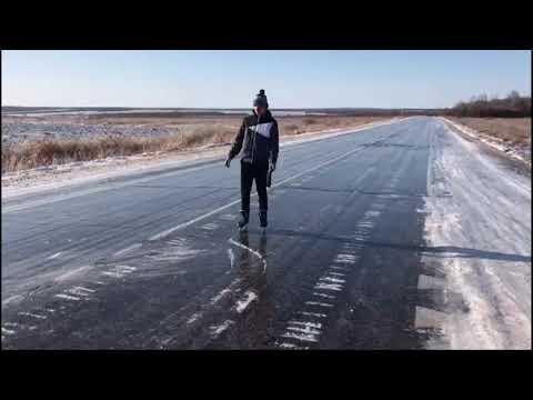 Самый СТРАШНЫЙ гололёд. Амурская область.