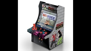 Bad Dudes 6 Inch Arcade Game Cabinet Review Video