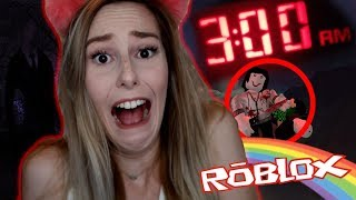 IT HAPPENED AT 3:00AM!! 😱 | REACTING TO THE SCARIEST ROBLOX MOVIE ON THE INTERNET
