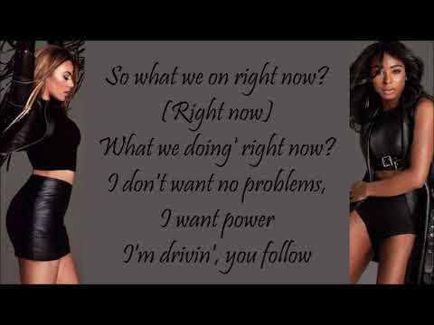 Fifth Harmony ~ Sauced Up ~ Lyrics