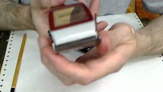видео Машинка для стрижки волос как собрать ножи