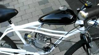 Motorized bicycle!!     80cc china 2-stroke