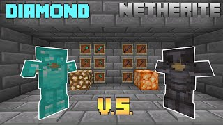 DIAMOND VS. NETHERITE | Which is Better?