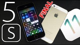 iPhone 5S en iOS 11 FINAL ! Review Concreto y Rapido. ¿Actualizar?