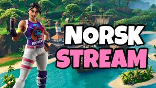 🔴 NORWEGIAN FORTNITE STREAM 💜 DUO CUSTOMS! 💜 JOIN 💜 SMALL STREAM BEFORE THE CABIN 💗 USE CODE ITD_IDATSU