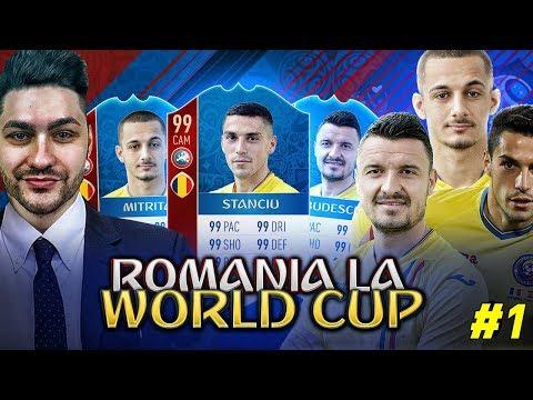 ROMANIA LA WORLD CUP RUSIA 2018 - SERIE NOUA WORLD CUP !!! MECIUL DE DESCHIDERE !!!