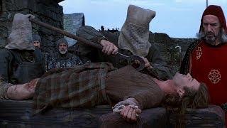 Храброе Сердце (1995)|Казнь Уильяма Уолласа|Момент из фильма (4к)