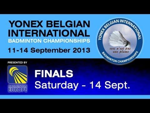 Finals - MS - Andre Kurniawan Tedjono vs Eric Pang - Yonex Belgian International 2013