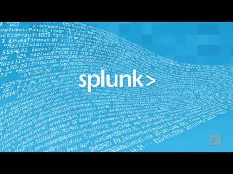 """Splunk Product Overview"""