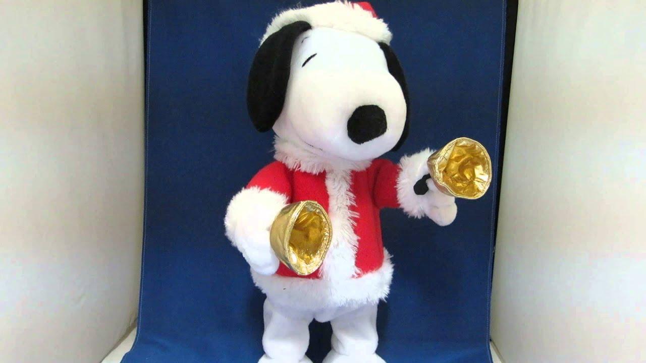 Christmas Musical bell ringer Snoopy - YouTube