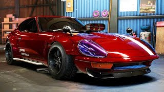 *SUPER BUILD* Nissan Datsun 240Z Derelict - Need for Speed: Payback - Part 32