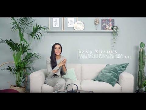 Jotun Colour Trends 2018 Colour Card By Rana Khadra Youtube
