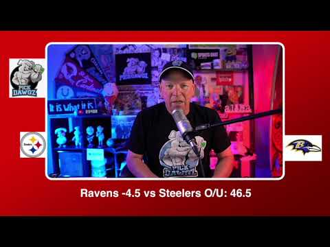 Baltimore Ravens vs Pittsburgh Steelers NFL Pick and Prediction Sunday 11/01/20 Week 8 NFL