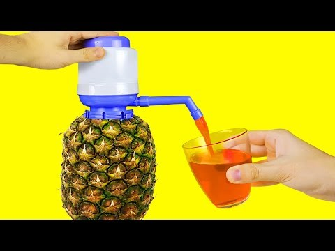 19 SIMPLE LIFE HACKS WITH FRUITS