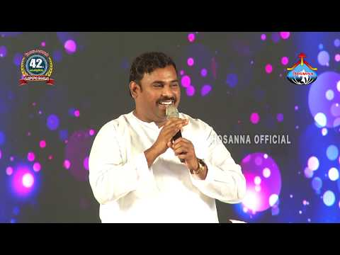 Hosanna Ministries 42 FEAST OF TABERNACLES 2nd Day Night Pas.ABRAHAM Anna Message