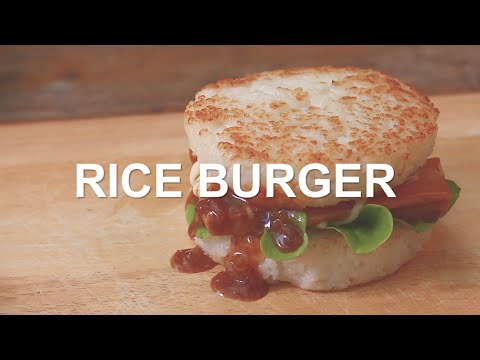 "How to make ""Rice Burger"" Sansiri RecipeYouTube"