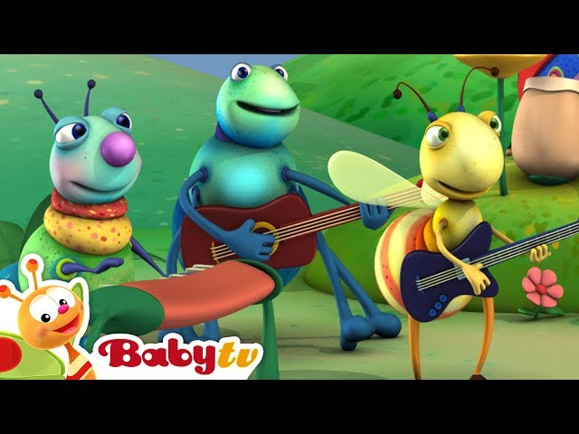 Big Bugs Band   Rock and Roll for Kids   BabyTV