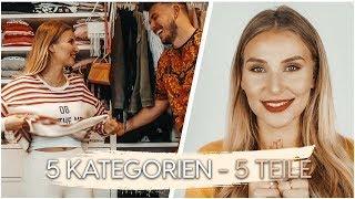 5 Kategorien - 5 Teile / Mein KLEIDERSCHRANK 😏 | AnaJohnson