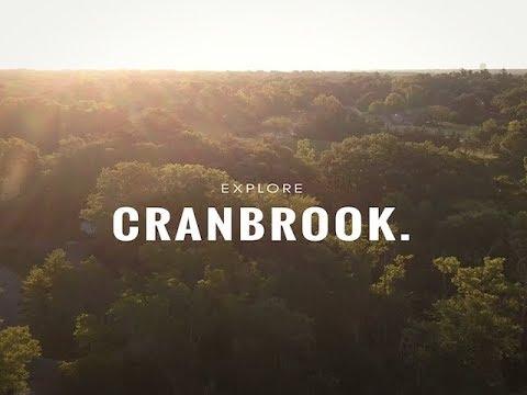 Cranbrook in Bloomfield Hills, Michigan